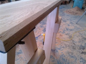 Oak Sill Bevelled