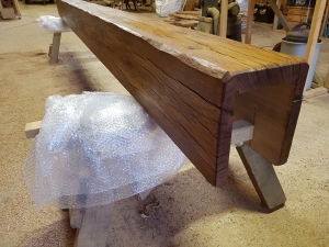 Oak Beam RSJ Cover
