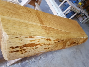 Rustic Oak Shelves Danish Oil